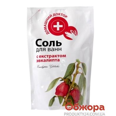 Соль для ванной Домашний Доктор с экстрактом эвкалипта 500г. д/п – ИМ «Обжора»