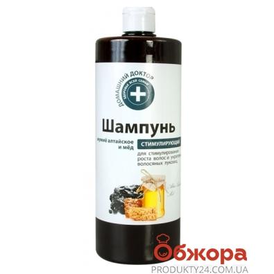 Шампунь Домашний Доктор Мумиё алтайское+мёд 1000 мл. – ИМ «Обжора»