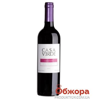 Вино Чили Каса Верде (Casa Verde) Карменер красное сухое 0,75 л – ИМ «Обжора»