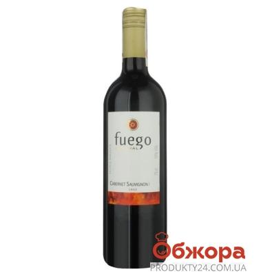 Вино Фуэго Аустрал (Fuego Austral) Austral Каберне Совиньон красное сухое 0,75 л – ИМ «Обжора»