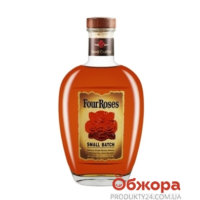 Виски Бурбон 4 розы (Four Roses) Small Batch 0,7 л – ИМ «Обжора»