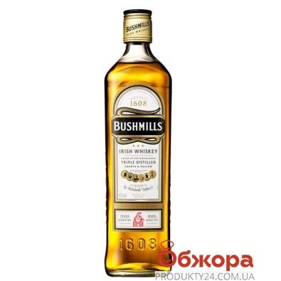 Виски Бушмилс (Bushmills) Оригинал 1,0л – ИМ «Обжора»