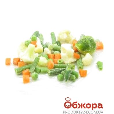Замороженные овощи Рудь Весення смесь 9 компонентов  вес. – ИМ «Обжора»