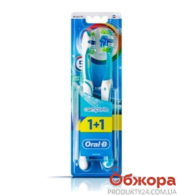 З\щетка Орал Би (ORAL-B) Комплекс пятисторонняя чистка 40 сред.1+1 – ИМ «Обжора»