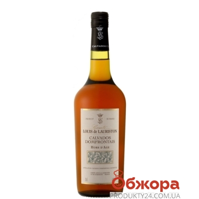 Кальвадос Кристиан Друэн (Christian Drouin) Comte Louis de Lauriston VSOP 0,7 л – ИМ «Обжора»
