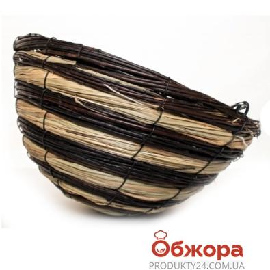 Кашпо плетенное конус D30см 21-2000 – ИМ «Обжора»