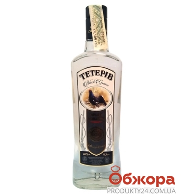 Водка Тетерев 0,5 л – ИМ «Обжора»