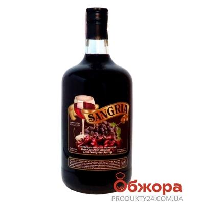 Коктейль винный Сангрия (Sangria) Вишня красный 1,75 л – ИМ «Обжора»