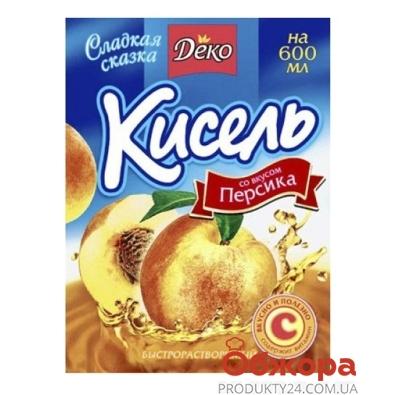 Кисель Деко 65г персик – ИМ «Обжора»