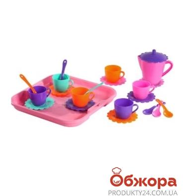 Посуда Ромашка на 6 персон+чайник+поднос 39086 – ИМ «Обжора»