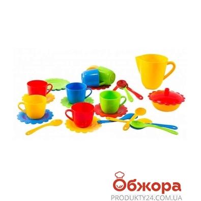 Посуда Ромашка в коробке 28эл. 39131 – ИМ «Обжора»