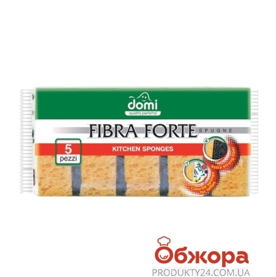 Губки Доми (Domi) кухонные 5 шт – ИМ «Обжора»