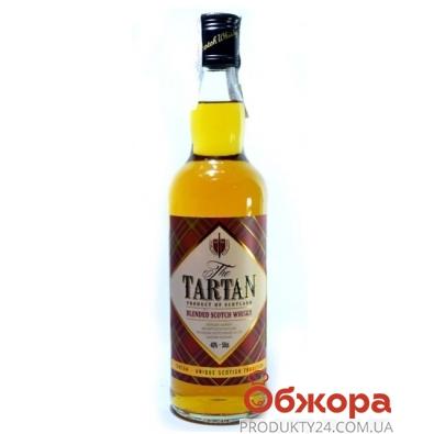 Виски Тартан 0.5 л – ИМ «Обжора»