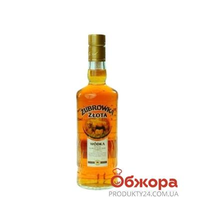 Водка Зубровка (Zubrowka) Zlota 37,5% 0,2 л – ИМ «Обжора»