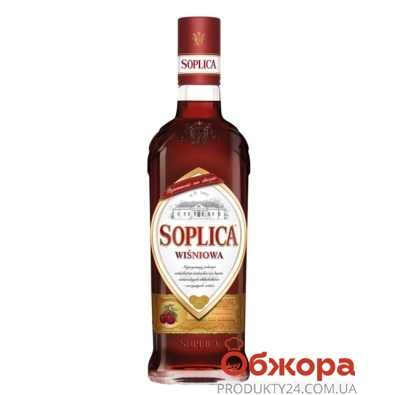 Водка Соплица (Soplica) Вишня 0,5 л – ИМ «Обжора»