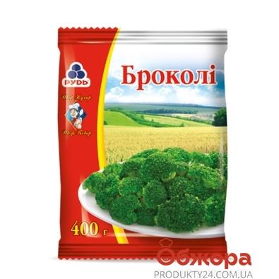 Замороженные овощи Рудь Капуста Брокколи 0,4 кг – ИМ «Обжора»