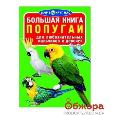 Книга Большая. Попугаи – ИМ «Обжора»