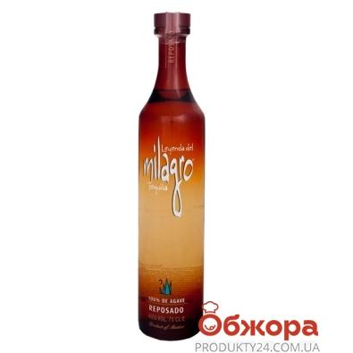 Текила Милагро (Milagro) Репосадо 0,375 л – ИМ «Обжора»