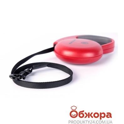 Рулетка Коллар (Collar) control 10кг,3м(ручка комфорт,лента) черная – ИМ «Обжора»
