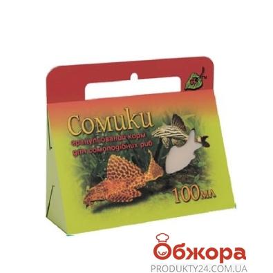 Корм для рыб Природа Сомики гранулир. 100 мл – ИМ «Обжора»