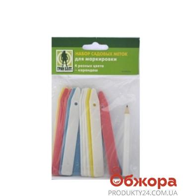 Набор садовых меток для маркировки с карандашом 06-061 – ИМ «Обжора»