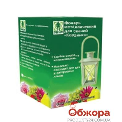 Фонарь Корзинка метал. для свечей 06-097 – ИМ «Обжора»