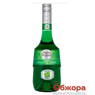 Ликер Мария Бризар (Marie Brizard) 0.7 л зеленая мята – ИМ «Обжора»
