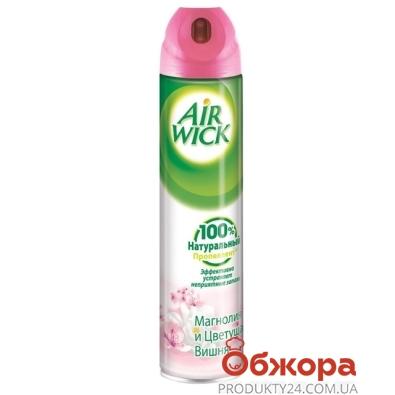Освежитель воздуха Эирвик (Airwick)  Магнолия и вишня 300 мл – ИМ «Обжора»