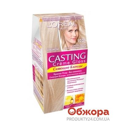 Краска для волос Лореаль (Loreal) Кастинг Крем Глосс N1021 – ИМ «Обжора»