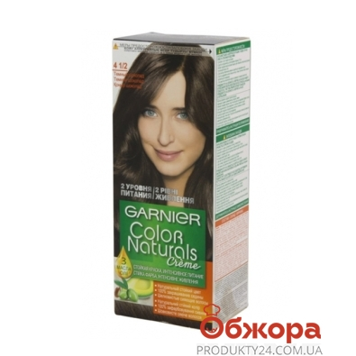Краска для волос Гарниер (Garnier) Color naturals 4 1/2 – ИМ «Обжора»