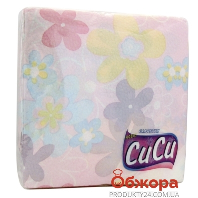 Салфетки Сиси 60 33х33 4 цвета 1 слой /100% целюл. – ИМ «Обжора»