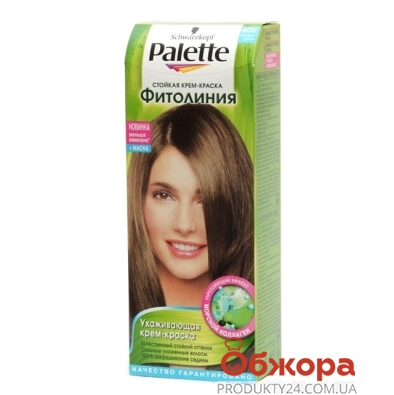 Краска Палетте (Pallete) Phitolinia для волос N400+маска средне-русый – ИМ «Обжора»