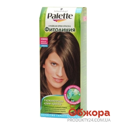 Краска Палетте (Pallete) Phitolinia для волос N500+маска темно-русый – ИМ «Обжора»