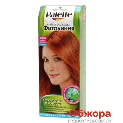 Краска Палетте (Pallete) Phitolinia для волос N390+маска светлая медь – ИМ «Обжора»