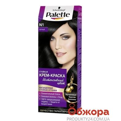 Краска Палетте (Pallete) для волос черный N-1 – ИМ «Обжора»