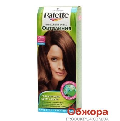 Краска Палетте (Pallete) Phitolinia для волос N568+маска темно-кашт. – ИМ «Обжора»