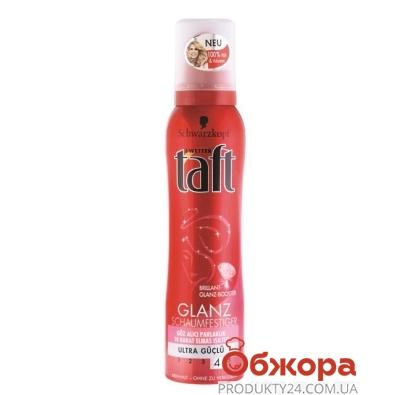 Пена для волос Тафт ( Taft) Красная Сияние бриллиантов 150мл. – ИМ «Обжора»