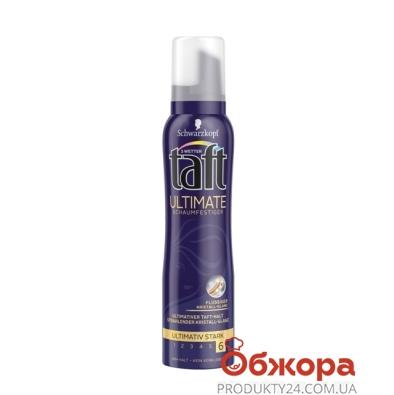 Пена для волос Тафт ( Taft) Power Ultimate с кристальным  блеском 150мл – ИМ «Обжора»