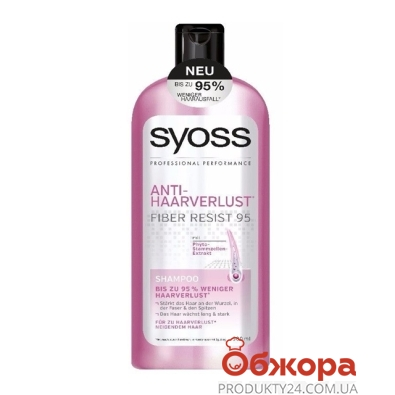 Шампунь Сьёс (Syoss)  Antidandruff Anti-grease п/выпад.в.500мл – ИМ «Обжора»