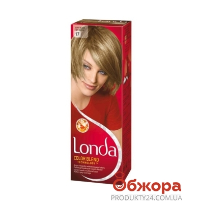 Краска Лонда (Londa) для волос N17 светло-русый – ИМ «Обжора»