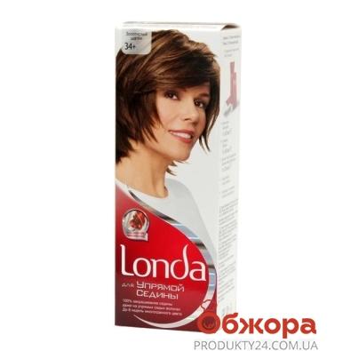 Краска Лонда (Londa) для волос N34 Золот.-каштан. – ИМ «Обжора»