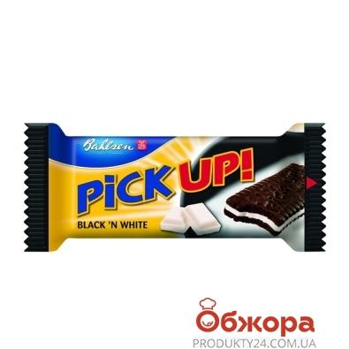 Печенье-сендвич Бальзен (Bahlsen) Пик-ап! черный/белый 28г – ИМ «Обжора»
