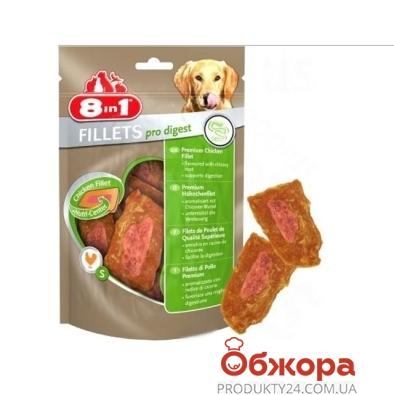 Корм куриное филе д/улучш. пищев. (S) 80г  8 in 1 – ИМ «Обжора»