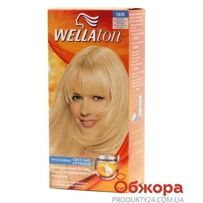 Краска Веллатон (Wellaton) для волос N12/0 Натур. блонд – ИМ «Обжора»