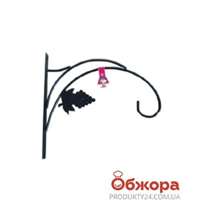 Кронштейн для кашпо Виноград D30cм 21-3006 – ИМ «Обжора»