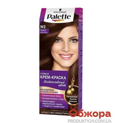 Краска Палетте (Pallete) для волос темный шоколад W2 – ИМ «Обжора»