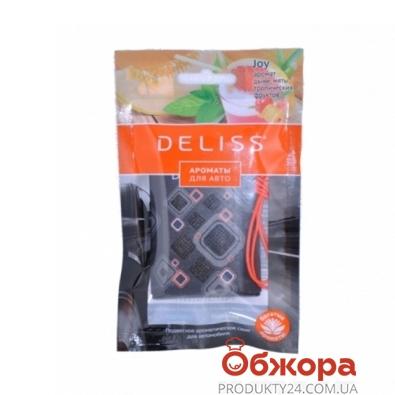 Освежитель Делисс (Deliss) Joy подвесной Атласное увлечение  для авто – ИМ «Обжора»
