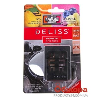 Освежитель картонный Делисс (Deliss) Joy/New Car для авто – ИМ «Обжора»