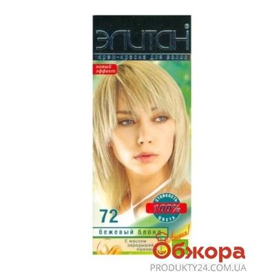 Краска Элитан N72 бежжевый блонд – ИМ «Обжора»