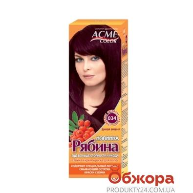 Краска Рябина для волос N034 дикая вишня – ИМ «Обжора»